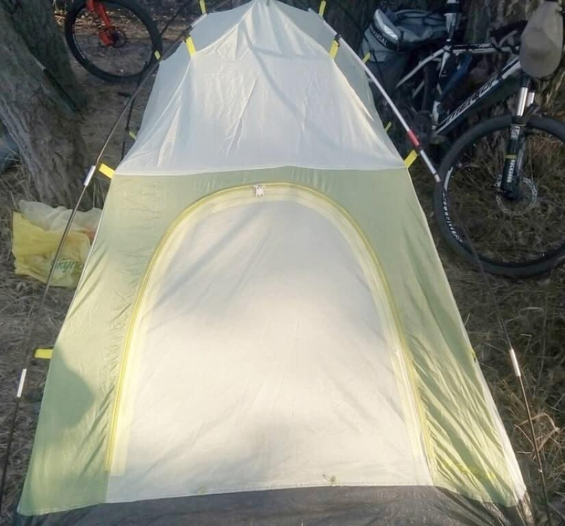 каркас палатки