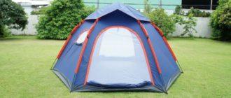 палатка восьмерка