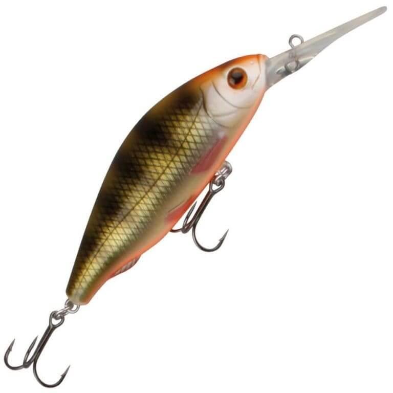 Рыбка с красными плавниками