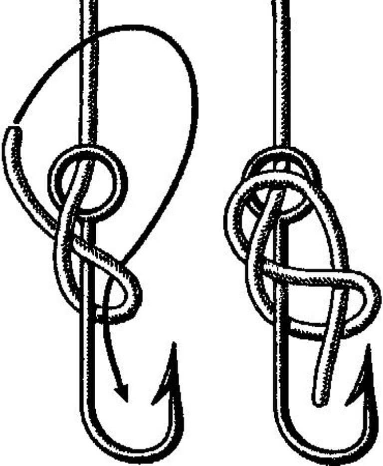 для привязывания крючка