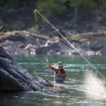 Рыбачить нахлыстом