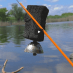 ловля на резинку видео