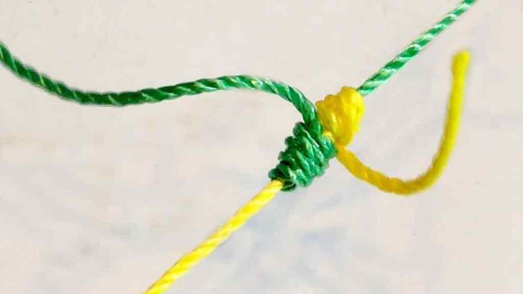 Две связанные веревки
