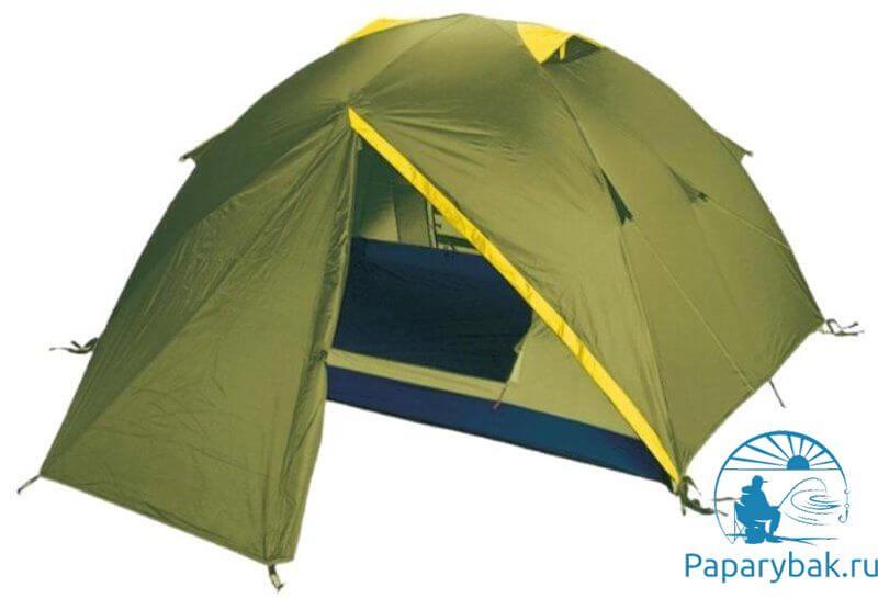 зеленая палатка