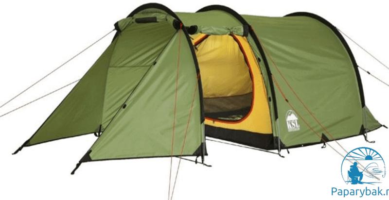 полубочка-палатка