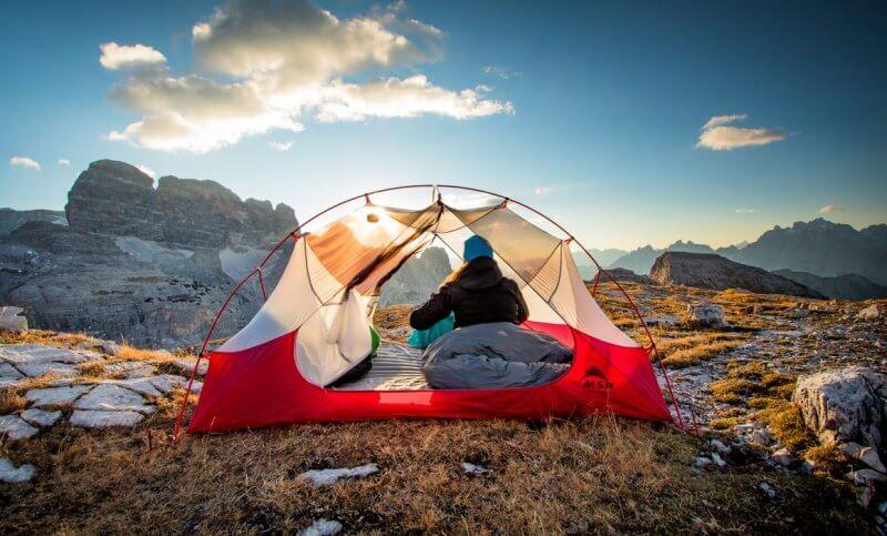 Легкая палатка