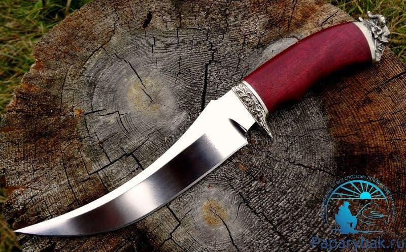 Нож из тали х12МФ