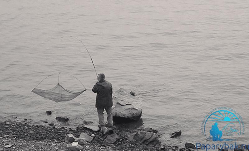 Рыбалка подъёмником